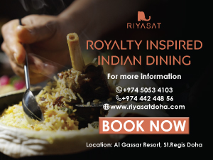 Riyasat Royalty Inspires Indian dining