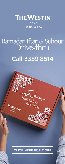 The Westin Doha Ramadan Iftar & Suhour – April