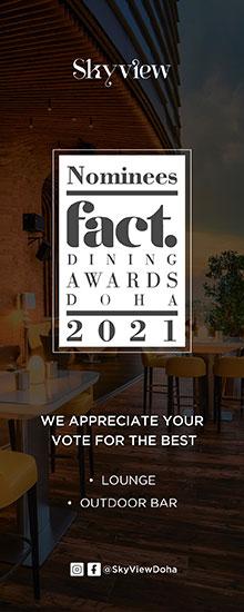 Skyview Fact Dining Awards – April