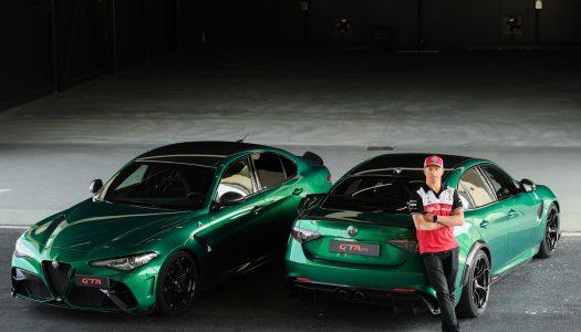 """Kimi Räikkönen certifies the """"Giulia GTA"""""""