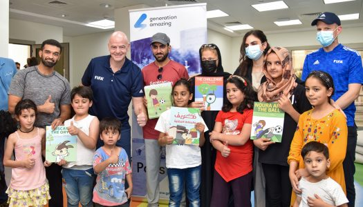 Infantino all praise for Qatar in welcoming Afghan evacuees